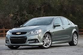 Mystic Green Metallic 2014 Chevrolet SS Performance Sedan