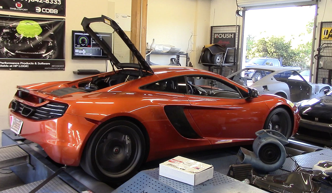 Volcano Orange 2012 McLaren MP4-12C Fabspeed Tune