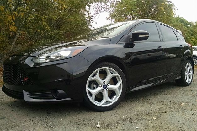 Black 2014 Ford Focus ST