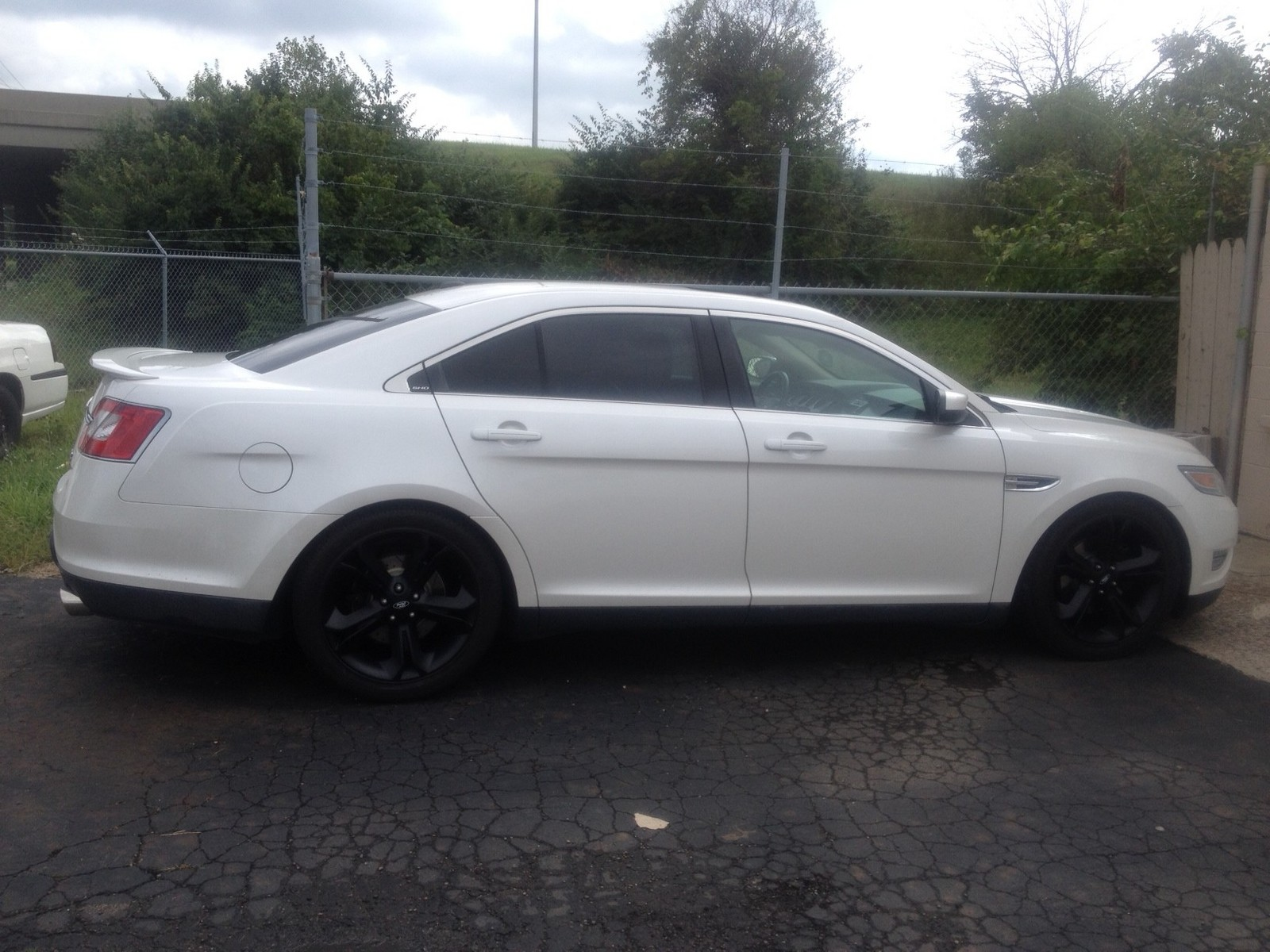 2011 White Ford Taurus SHO picture, mods, upgrades