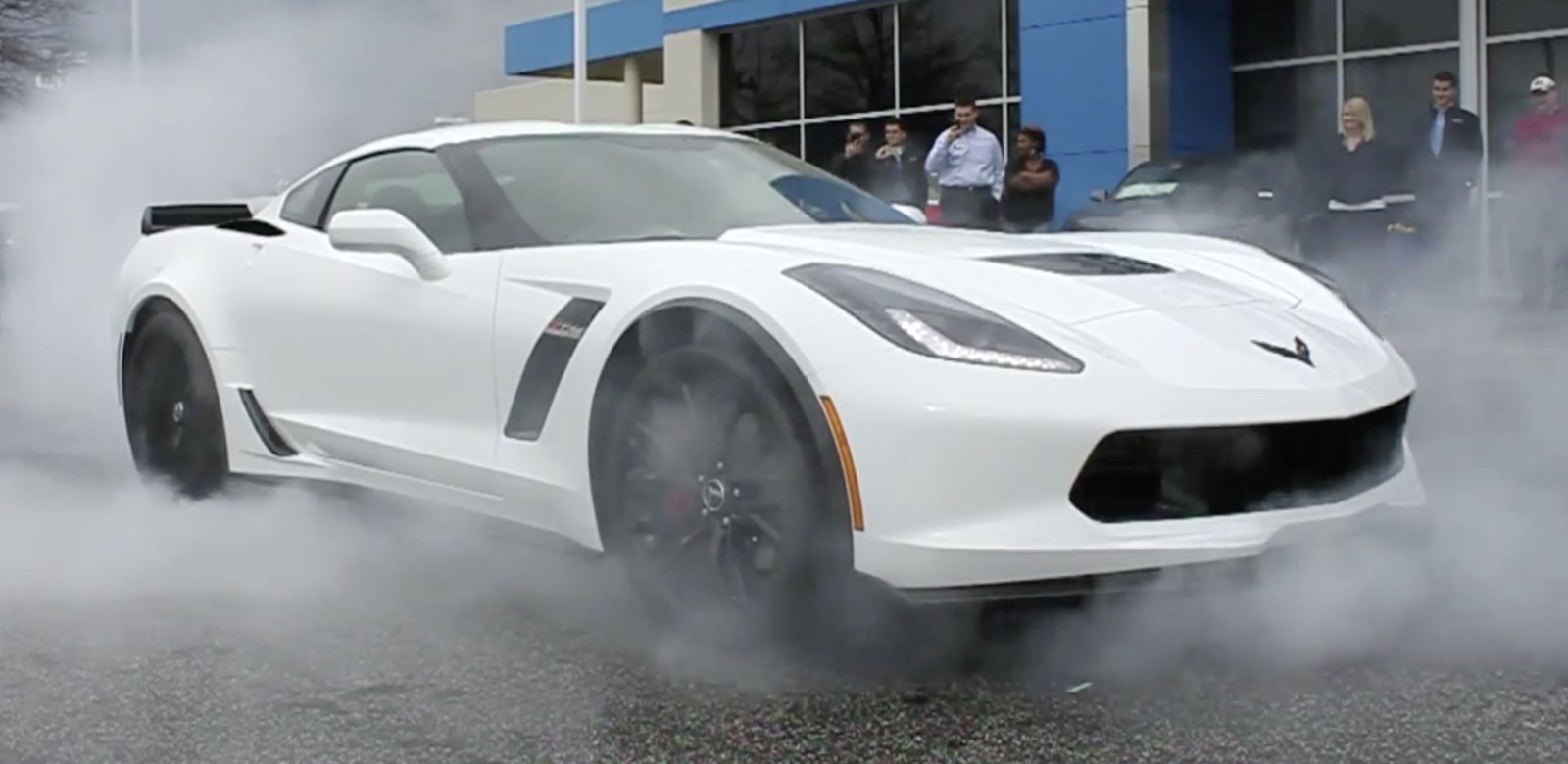 White 2015 Chevrolet Corvette C7 Z06