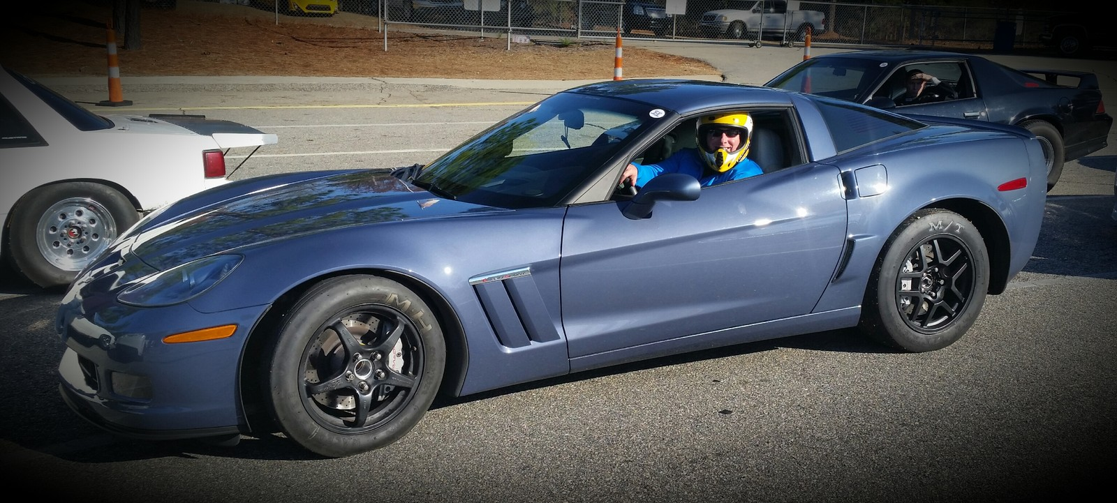 sonic Blue  2012 Chevrolet Corvette Grand Sport  Bolt-ons
