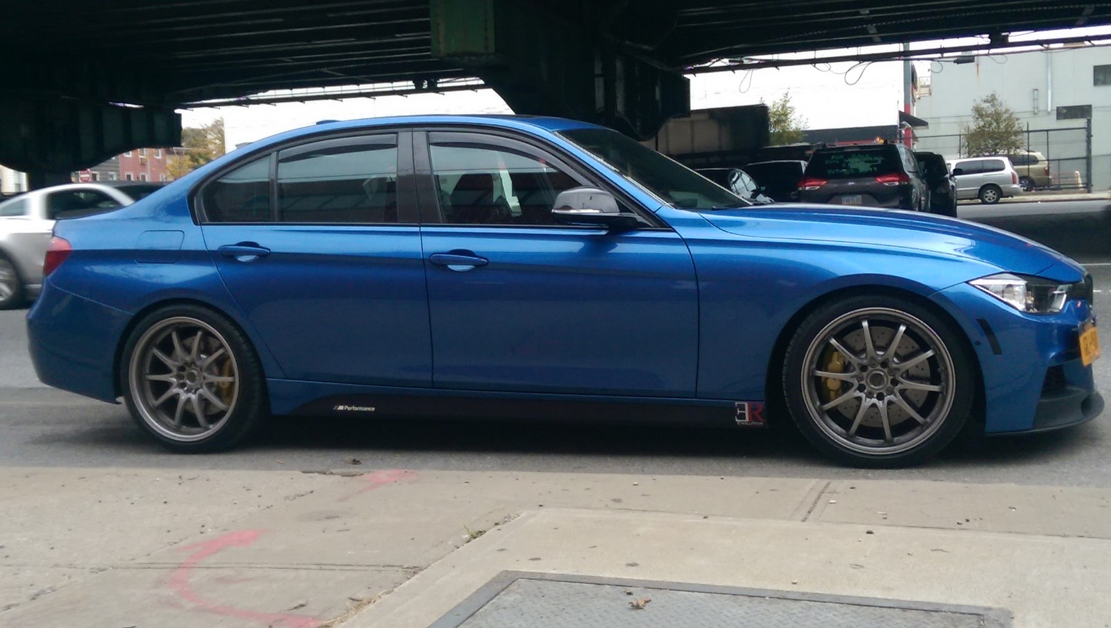 estoril blue 2014 BMW 335xi