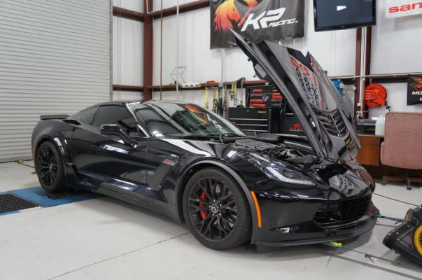 Black 2015 Chevrolet Corvette C7-Z06