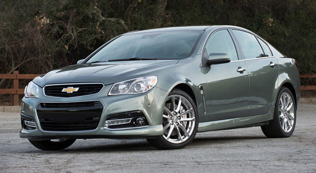 Platinum Gray Metallic 2015 Chevrolet SS MANUAL