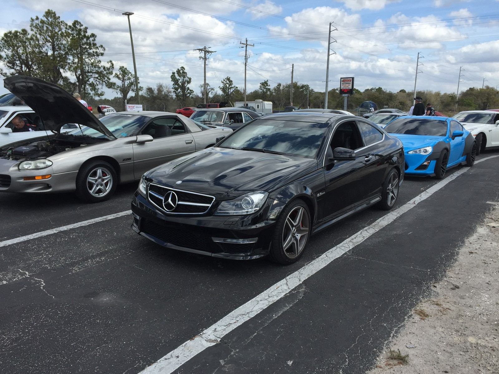 2012 mercedes benz c63 amg coupe p31 w lsd 1 4 mile trap speeds 0 60 - 2012 mercedes c63 amg coupe ...
