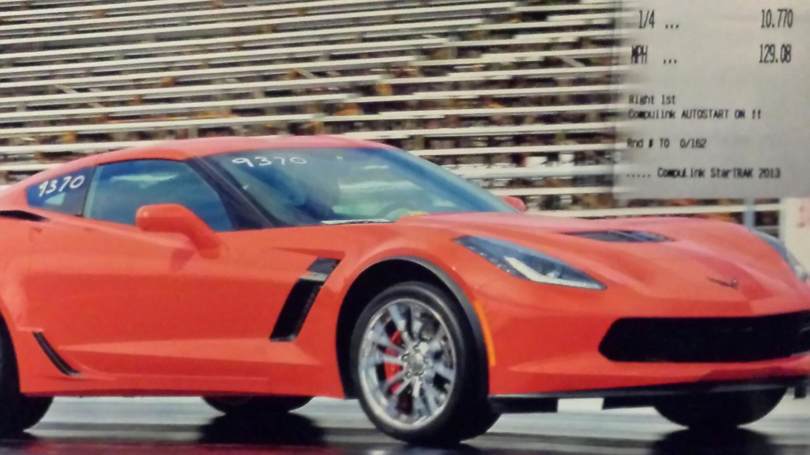 Red 2015 Chevrolet Corvette C7-Z06 Automatic