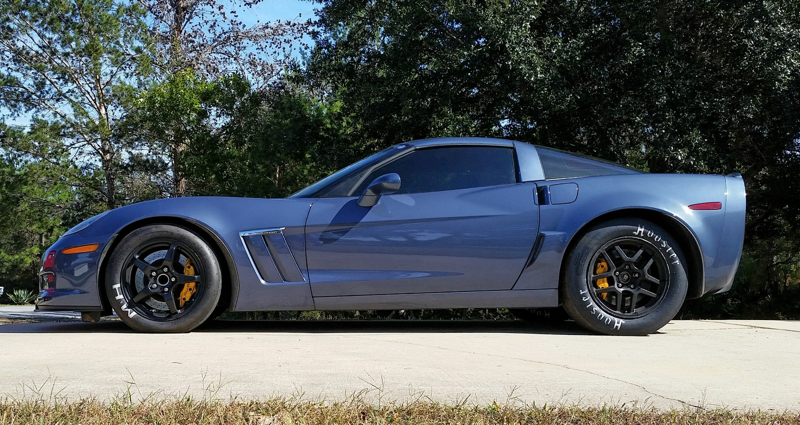 Sonic Blue  2012 Chevrolet Corvette Grand Sport All Motor 6.2L