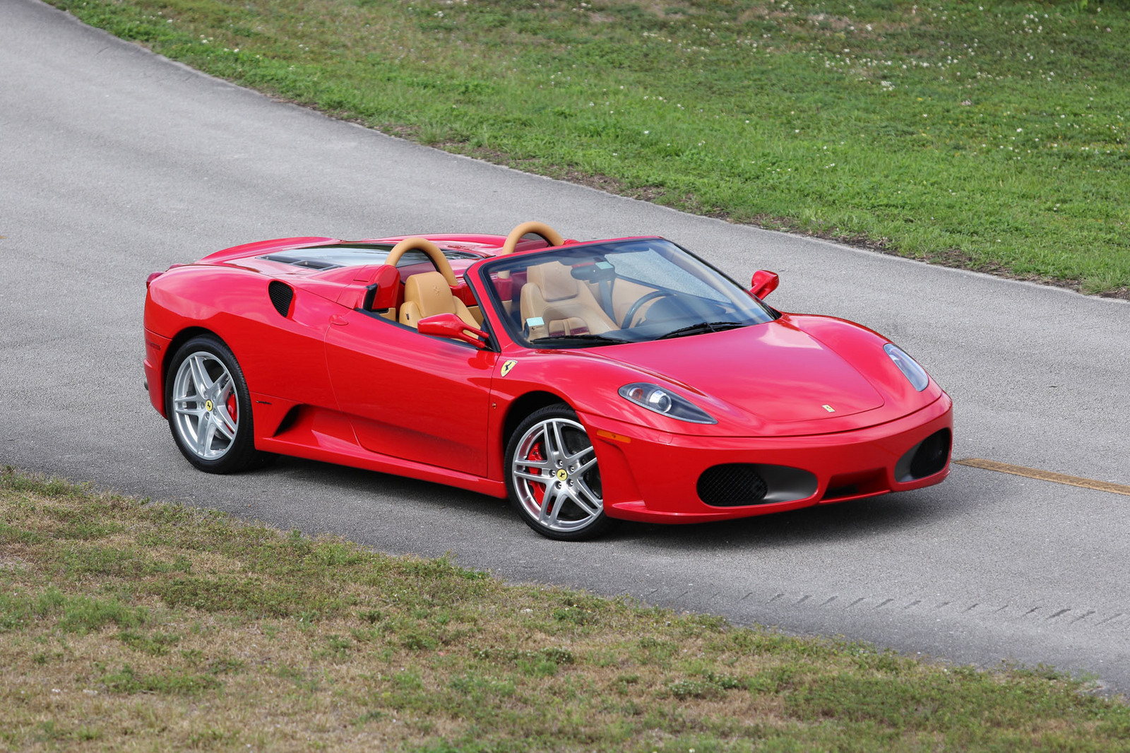 Red 2008 Ferrari F430 Spider