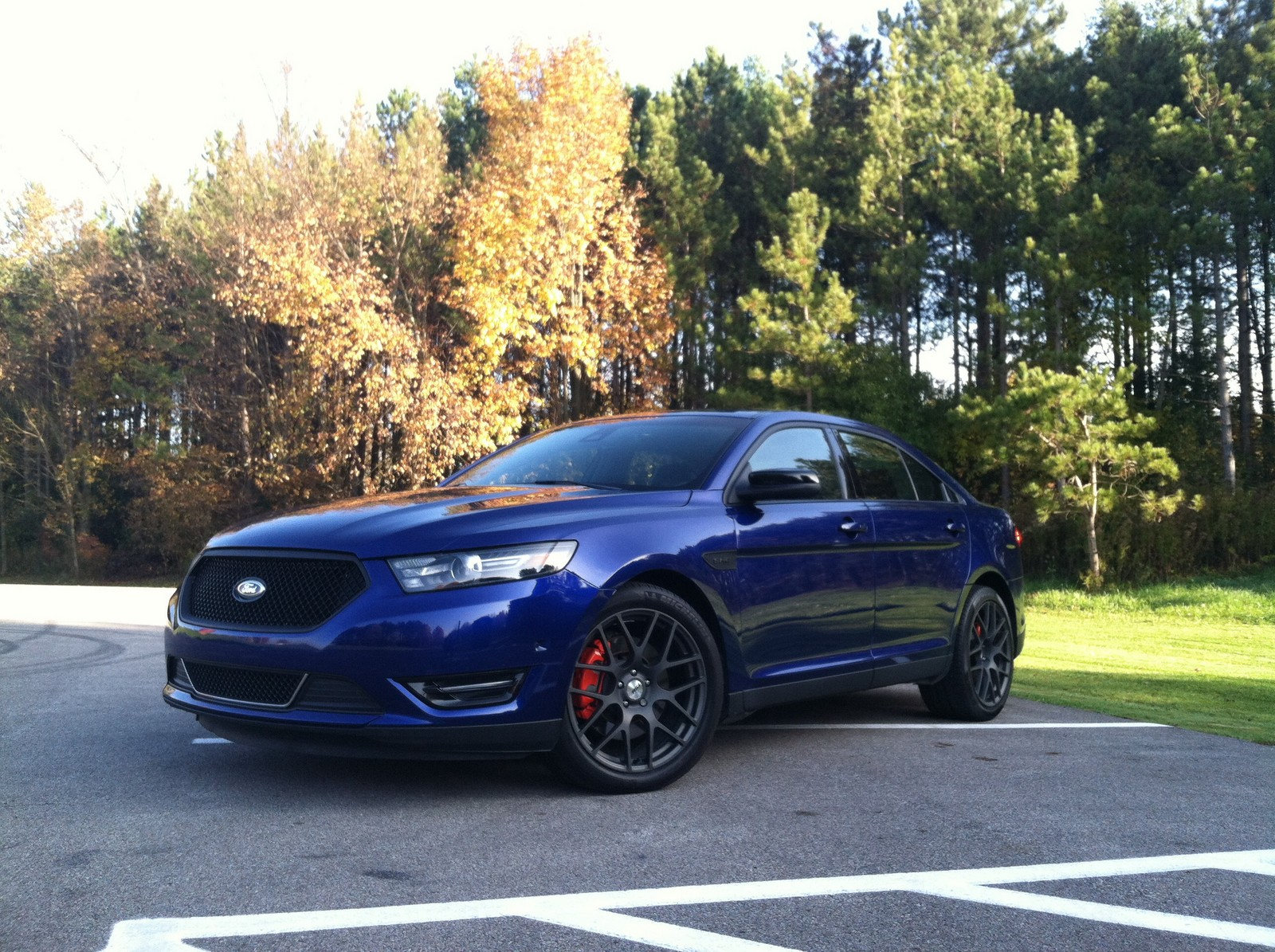 2013 Deep impact blue Ford Taurus Sho Non PP picture, mods, upgrades