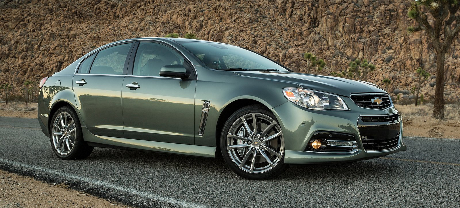 Navy Green 2015 Chevrolet SS