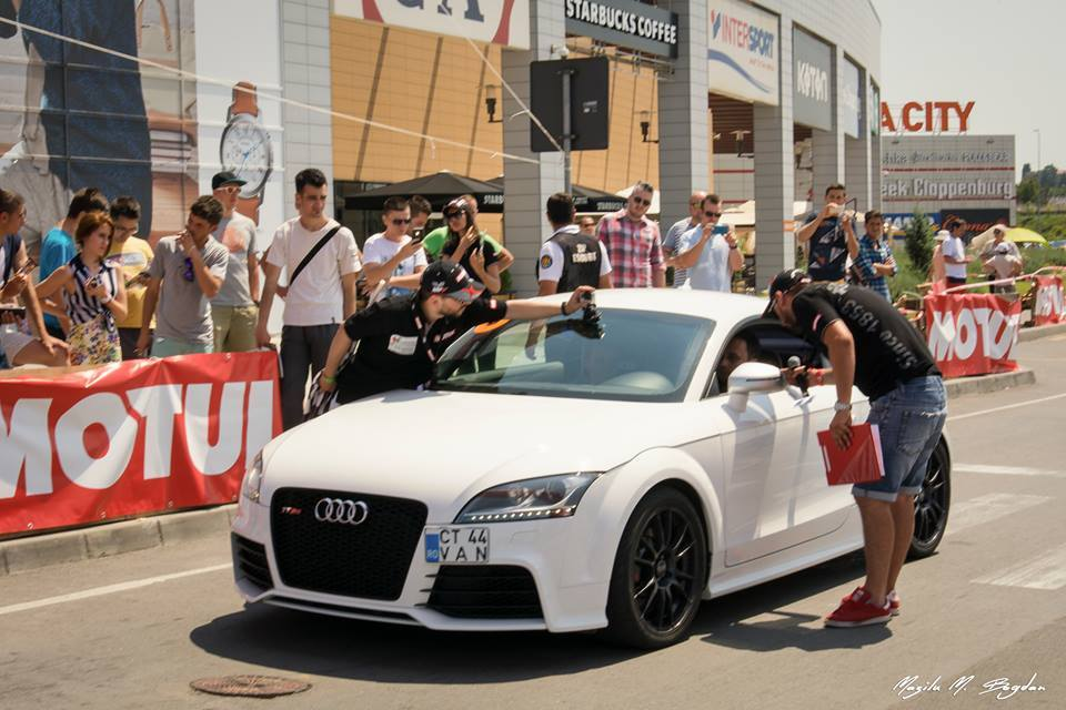 White 2013 Audi TT RS TTE500