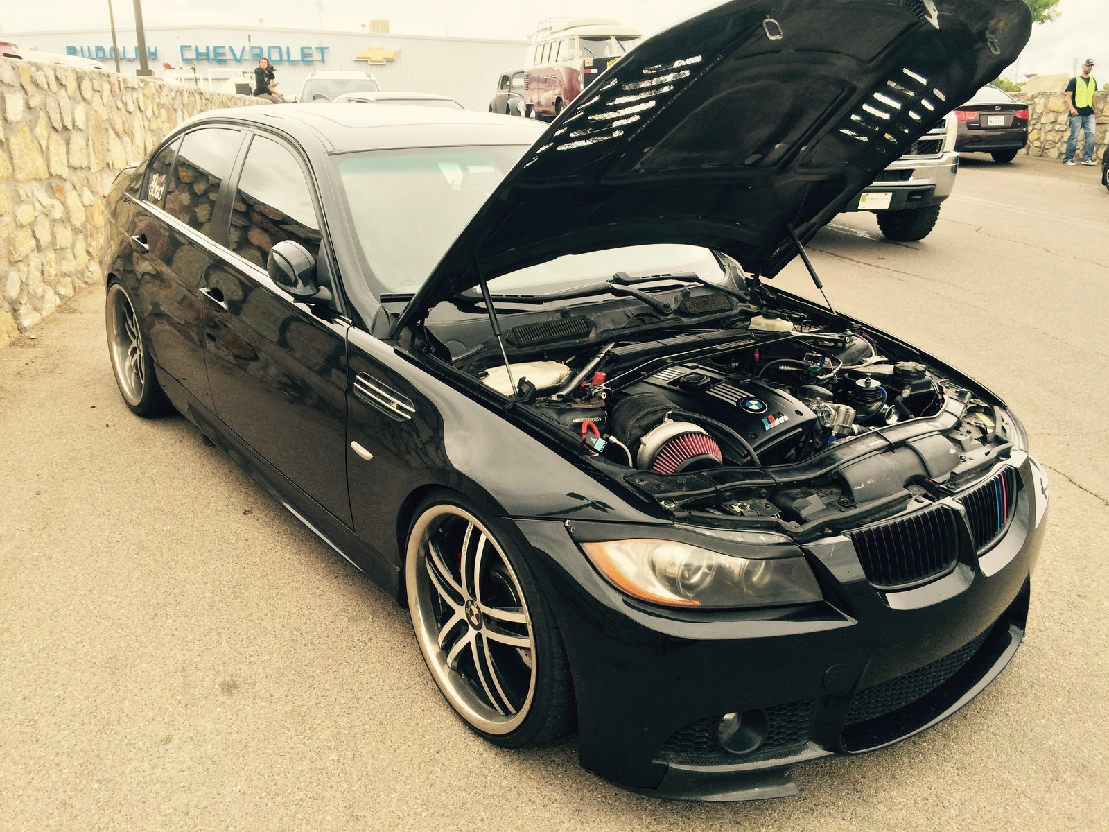 Black 2007 BMW 335i ST VM 6466 Gen2