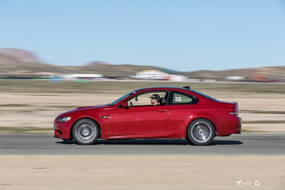 Red 2008 BMW M3 ESS VT3 750 Supercharged