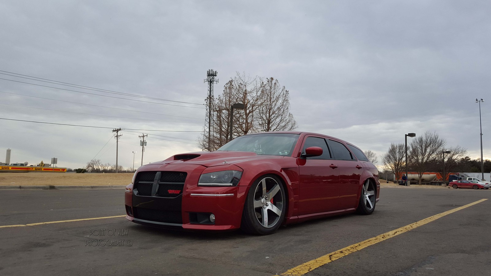 Inferno Red 2006 Dodge Magnum SRT