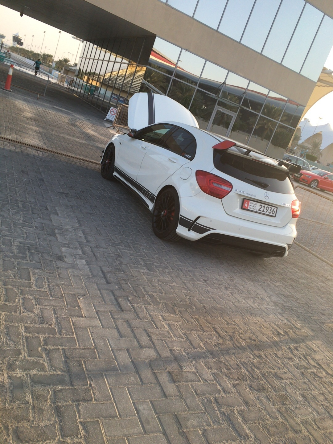 White 2015 Mercedes-Benz A45 AMG AMG
