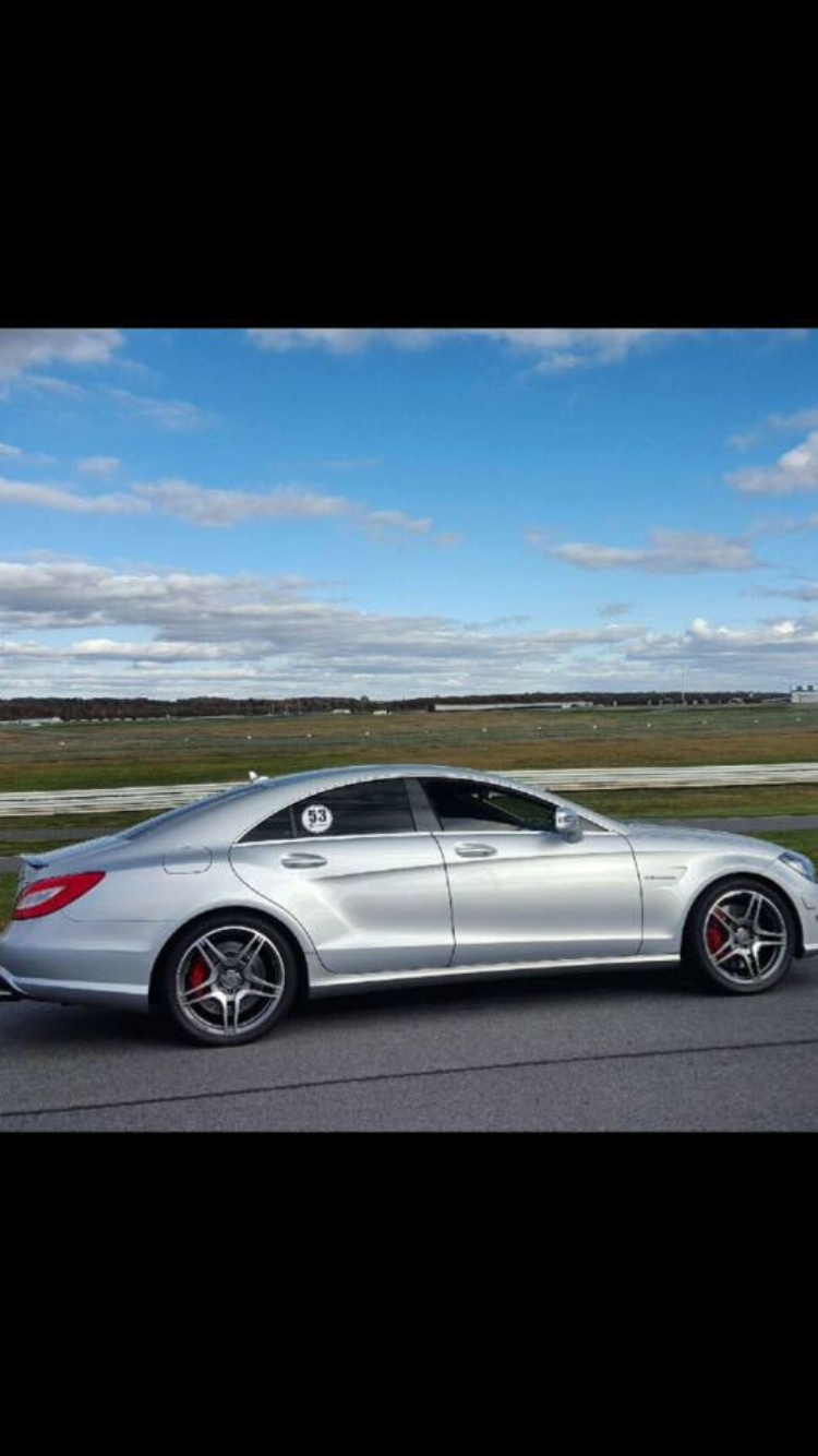 Silver 2013 Mercedes-Benz CLS63 AMG Powerhaus Performance - Wesitec