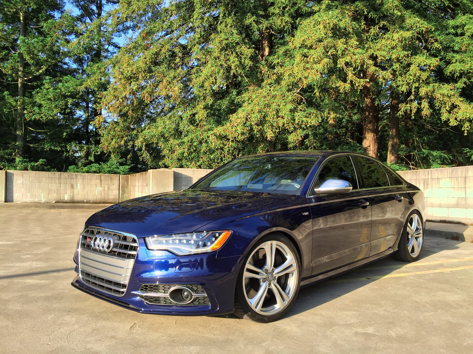Estoril Blue 2013 Audi S6 C7