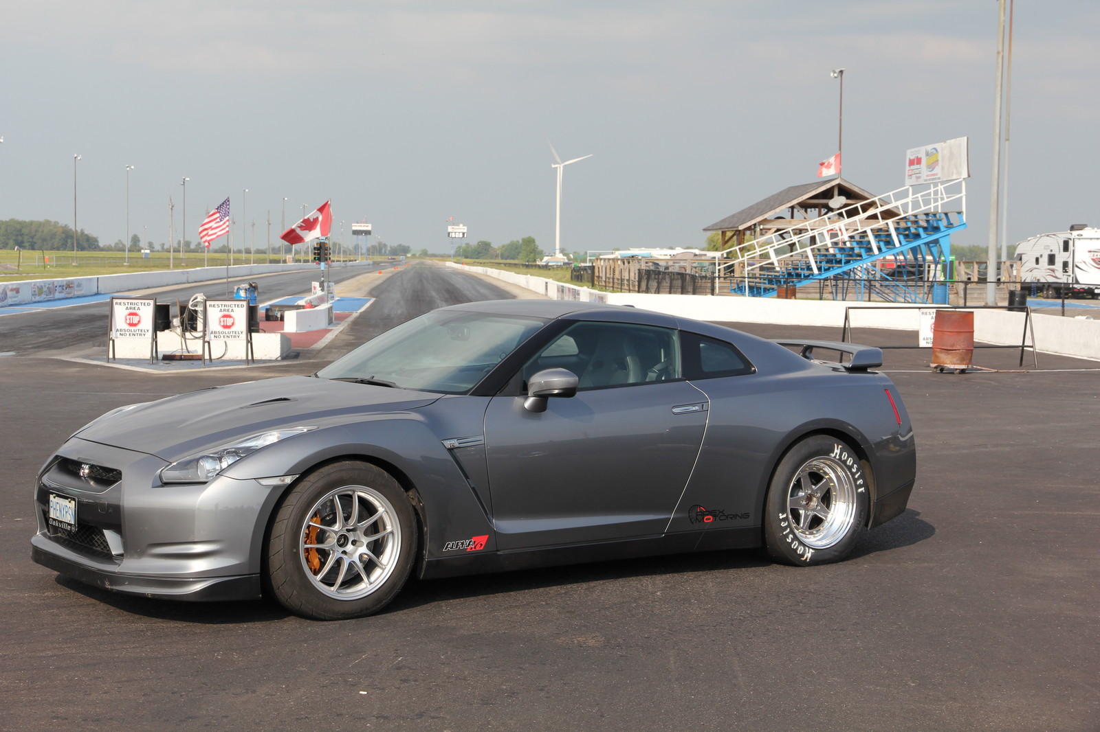 2010 Gun Metal Grey Nissan GT-R Apex Motoring Alpha 16 picture, mods, upgrades