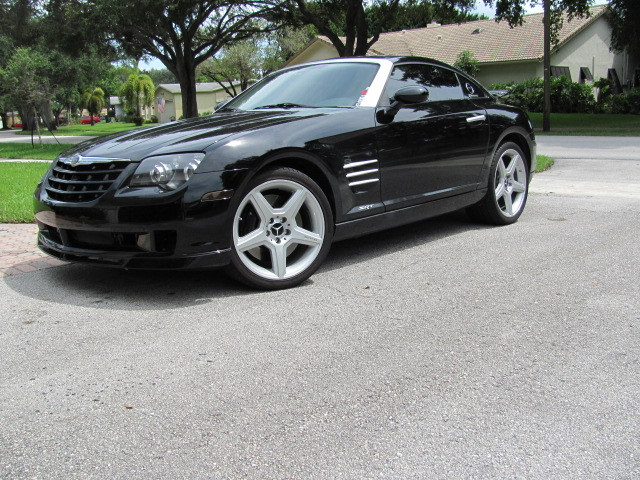 2005 black Chrysler Crossfire srt picture, mods, upgrades