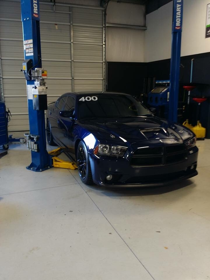 Jazz blue 2014 Dodge Charger R/T F1a procharger