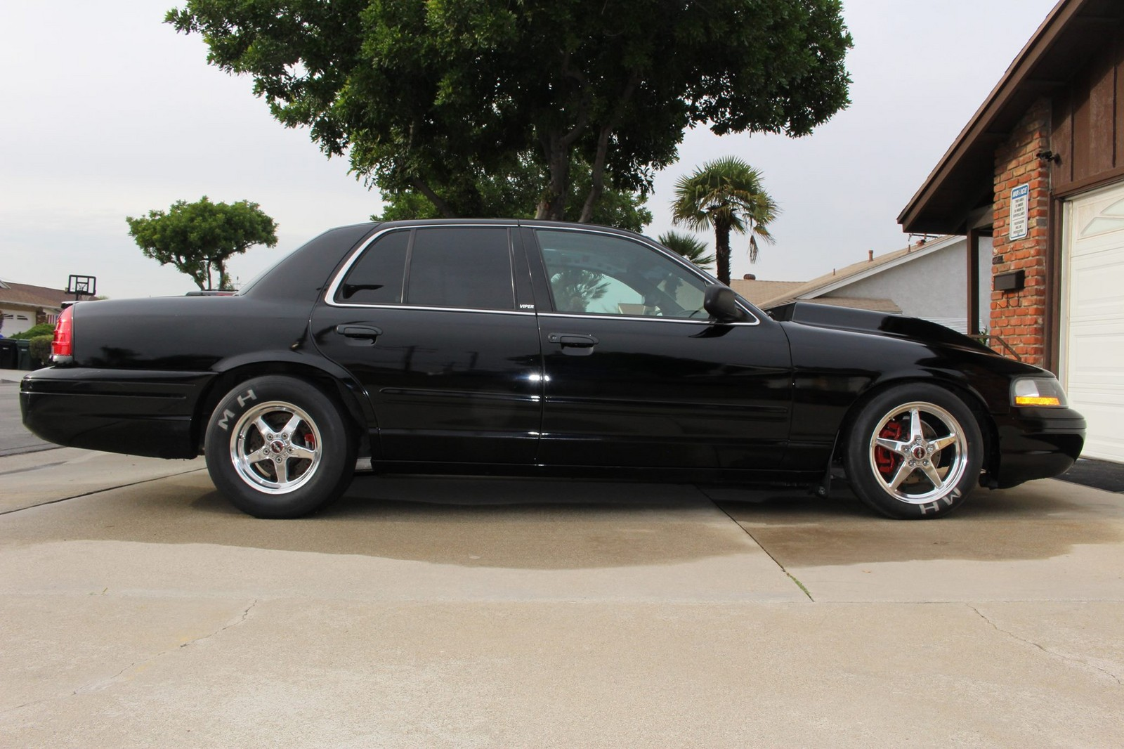 Black 2003 Ford Crown Victoria Police Interceptor