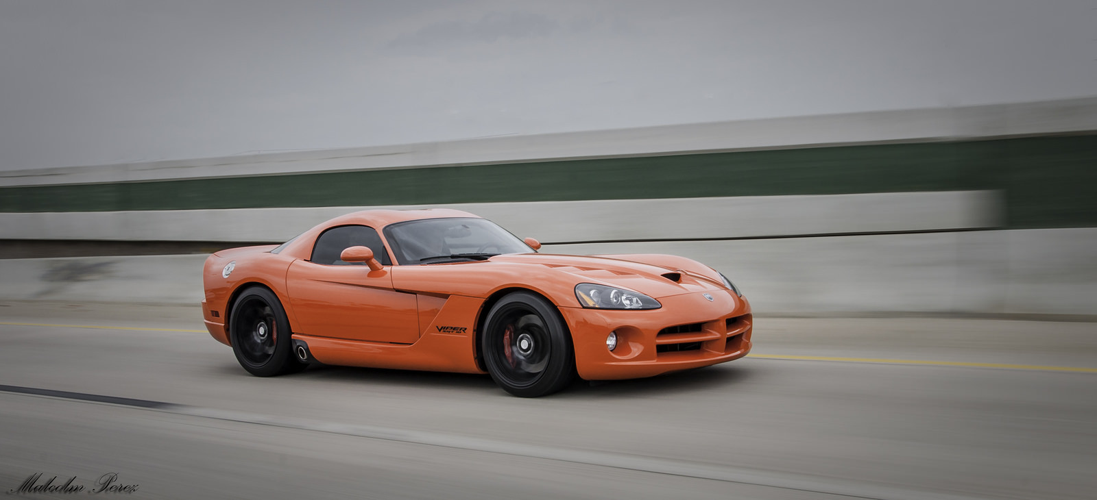Very Viper Orange 2008 Dodge Viper SRT-10