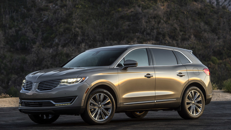 2016  Lincoln MKX RESERVE AWD picture, mods, upgrades