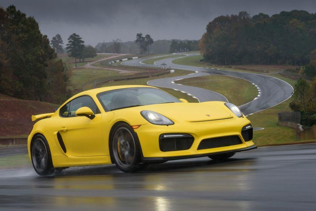2016 YELLOW Porsche Cayman GT4 picture, mods, upgrades