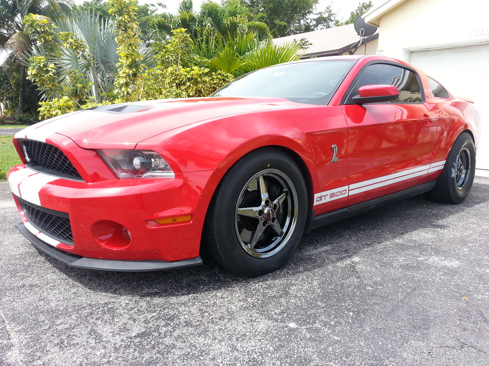 Torch Red 2010 Ford Mustang Shelby-GT500