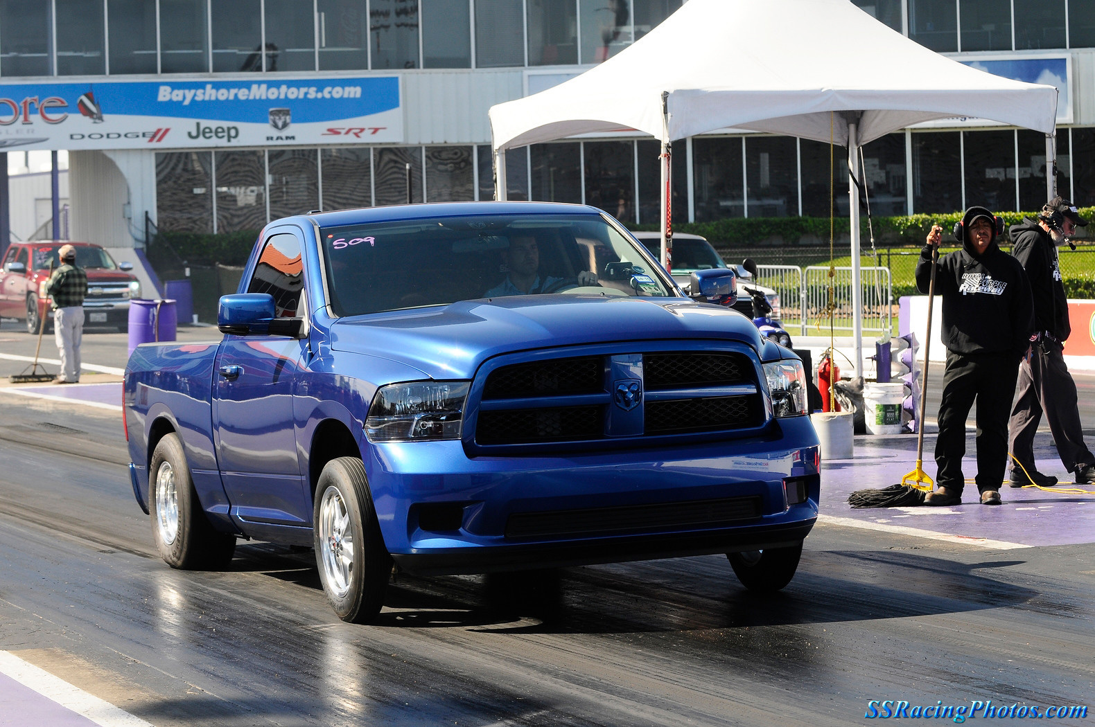 Blue 2011 Dodge Ram 1500 Express