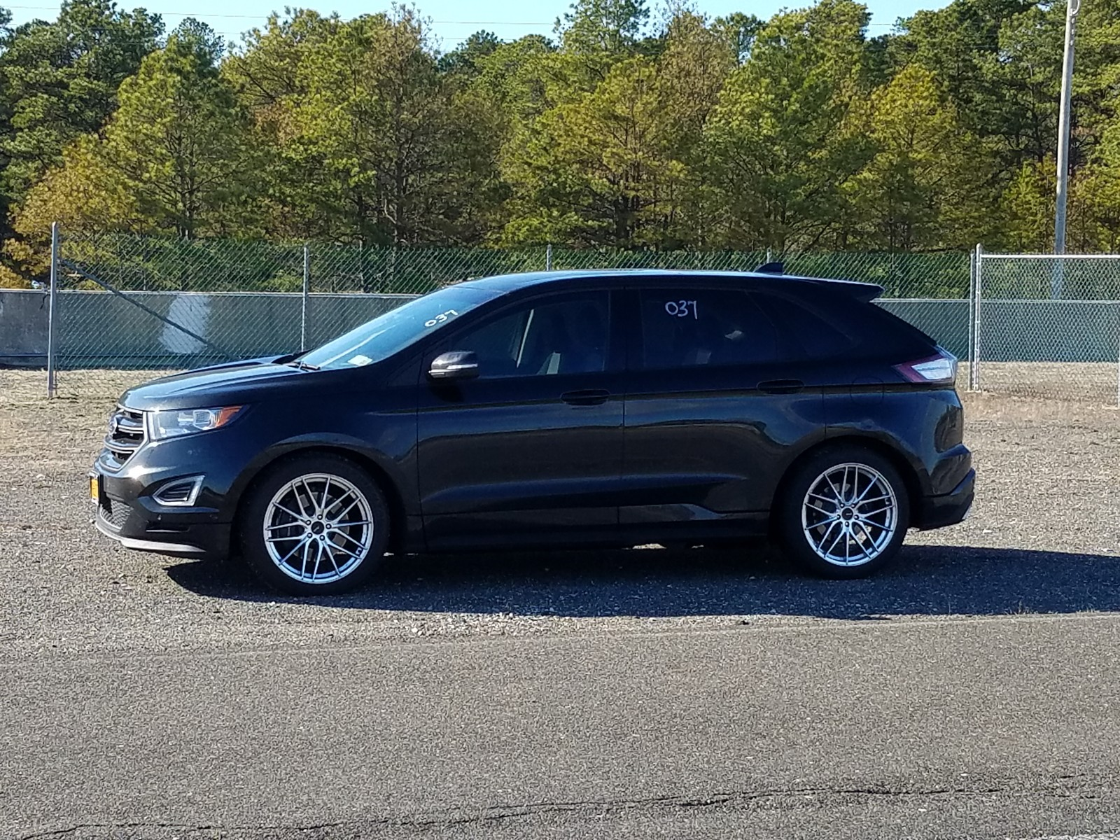 Black 2015 Ford Edge Sport AWD