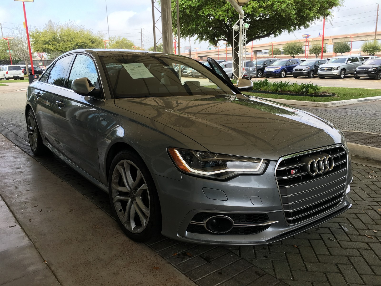 Monsoon Grey Metallic 2013 Audi S6 Prestige