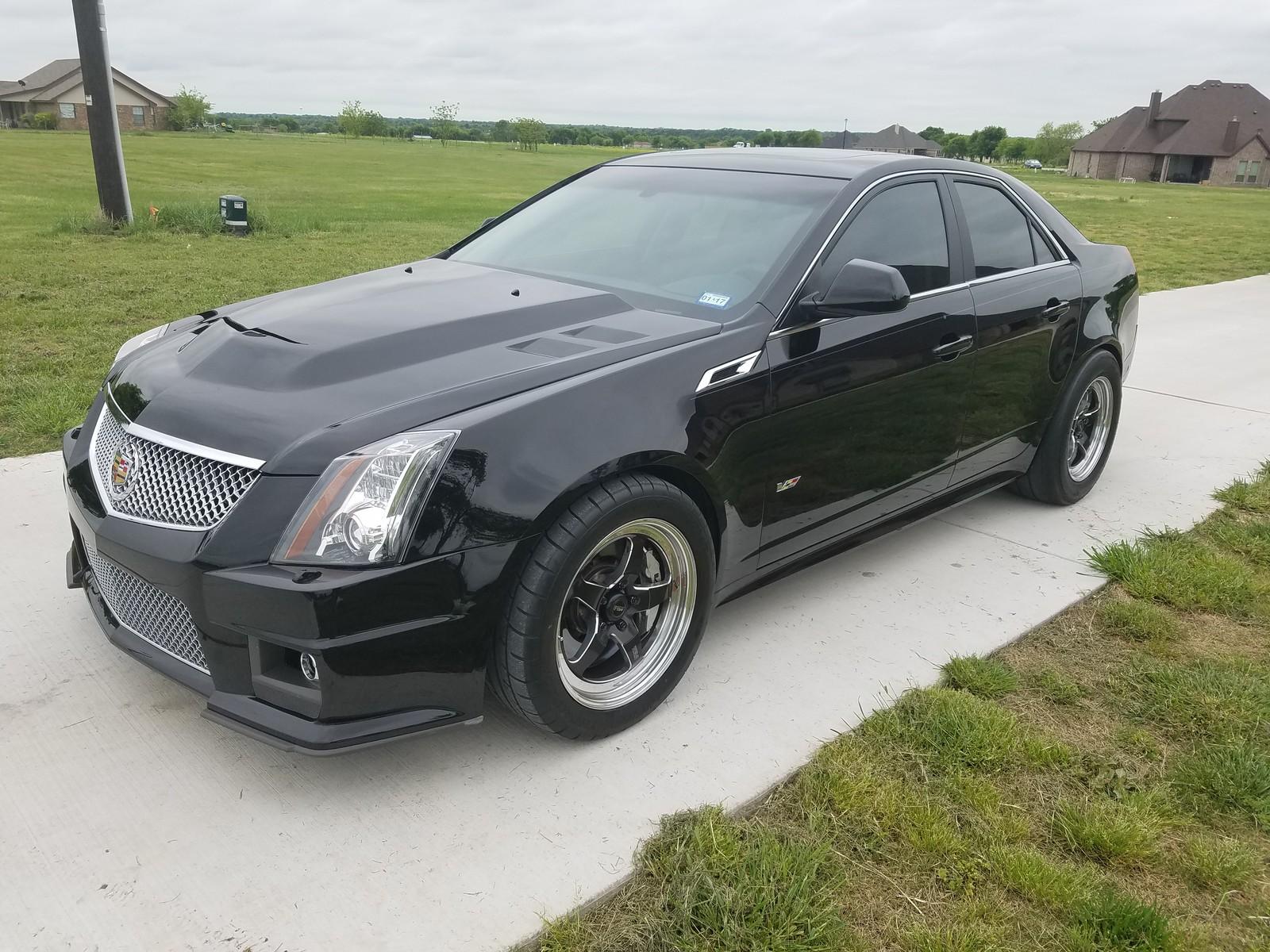 2012 Black Raven Cadillac Cts V Sedan Pictures Mods