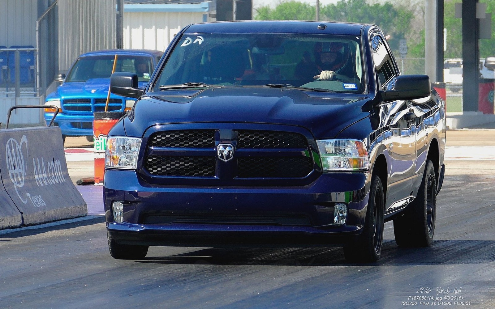True Blue Pearl 2014 Dodge Ram 1500 RCSB