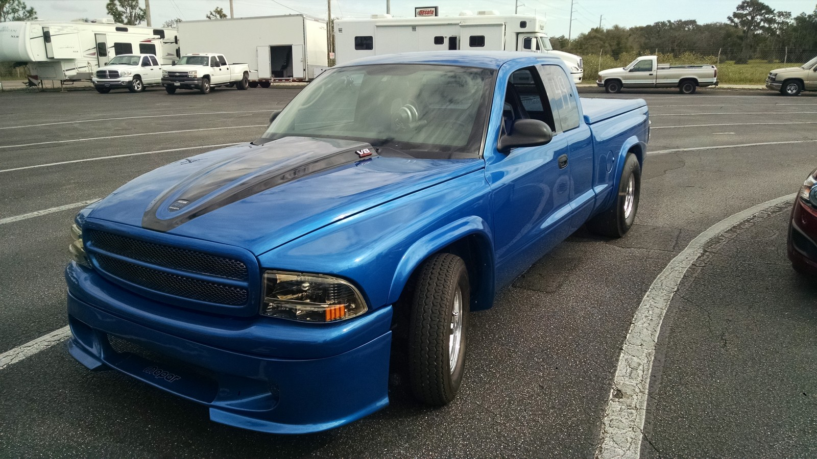 Intense Blue 2001 Dodge Dakota Sport 4.7L