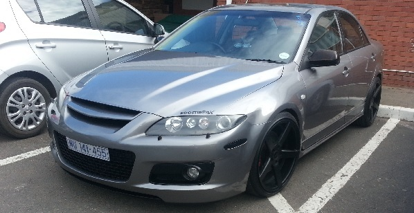 Metro Grey 2007 Mazda 6 Mazdaspeed 6 ( MPS )