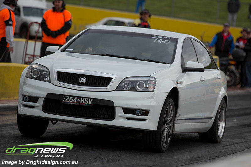 White 2009 Holden HSV WM Grange