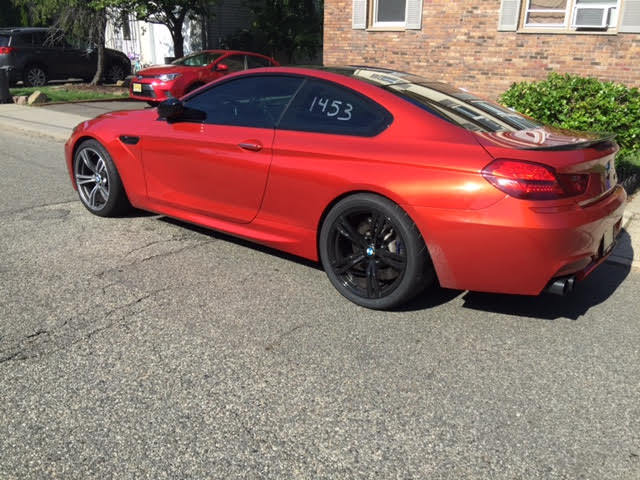 Sakhir Orange 2013 BMW M6 Coupe