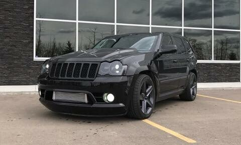 2008 Brilliant Black  Jeep Cherokee SRT8  picture, mods, upgrades