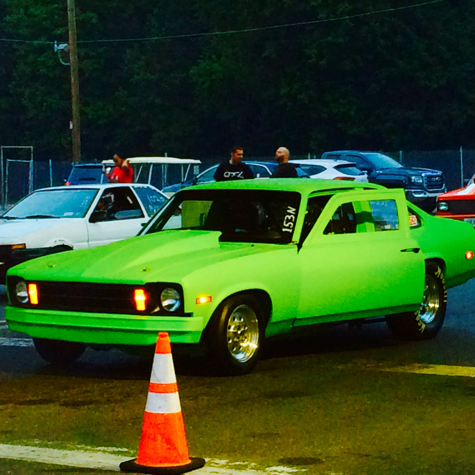 1977 Green Chevrolet Chevy Base 2 dr picture, mods, upgrades