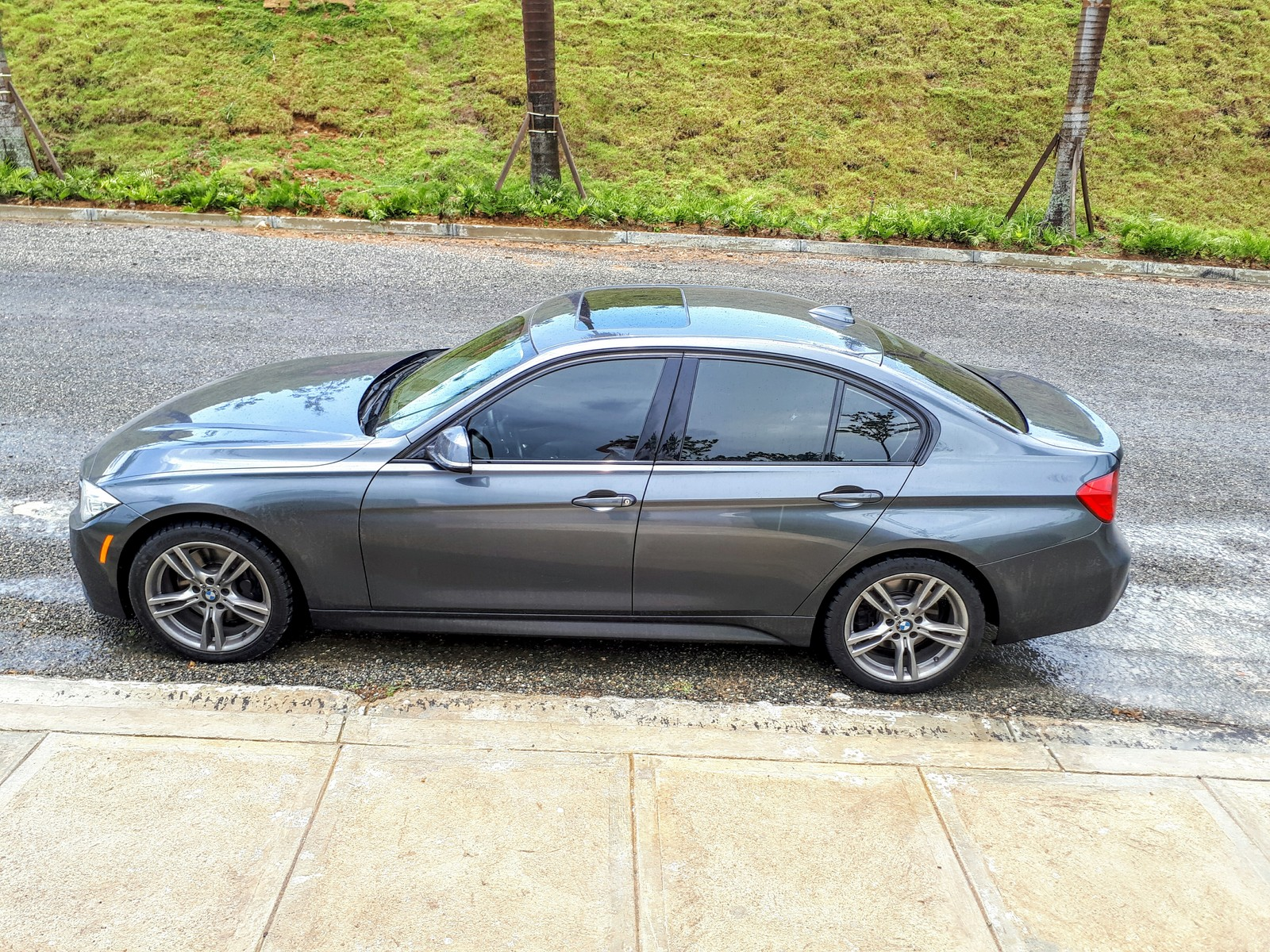 Grey 2013 BMW 335xi M Sport