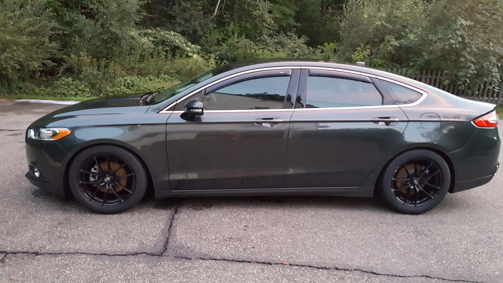 2015 Ford Fusion SE AWD 1 4 mile trap speeds 0 60