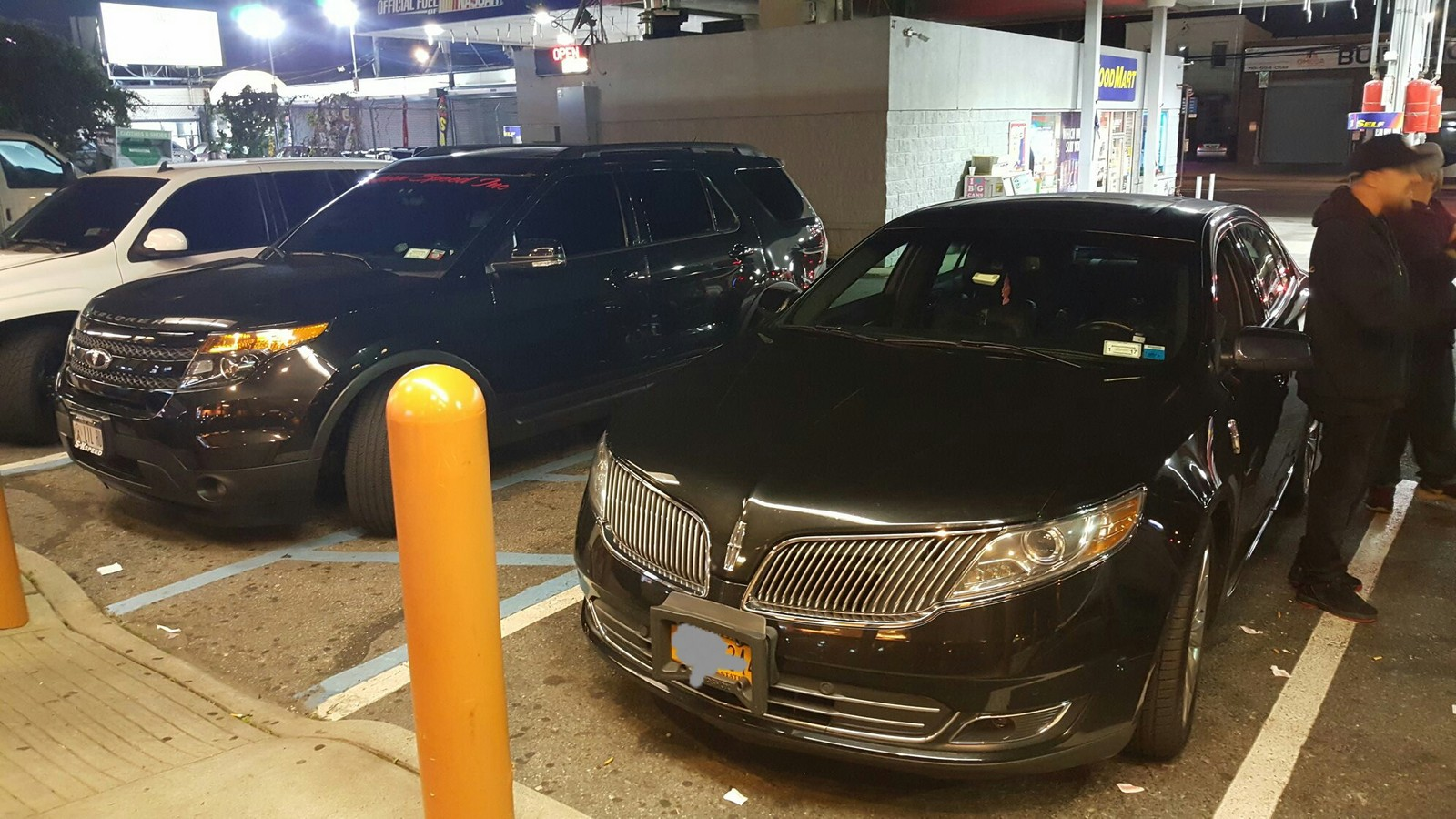 2013 Tuxedo Black Lincoln MKS 3.5 ecoboost  picture, mods, upgrades