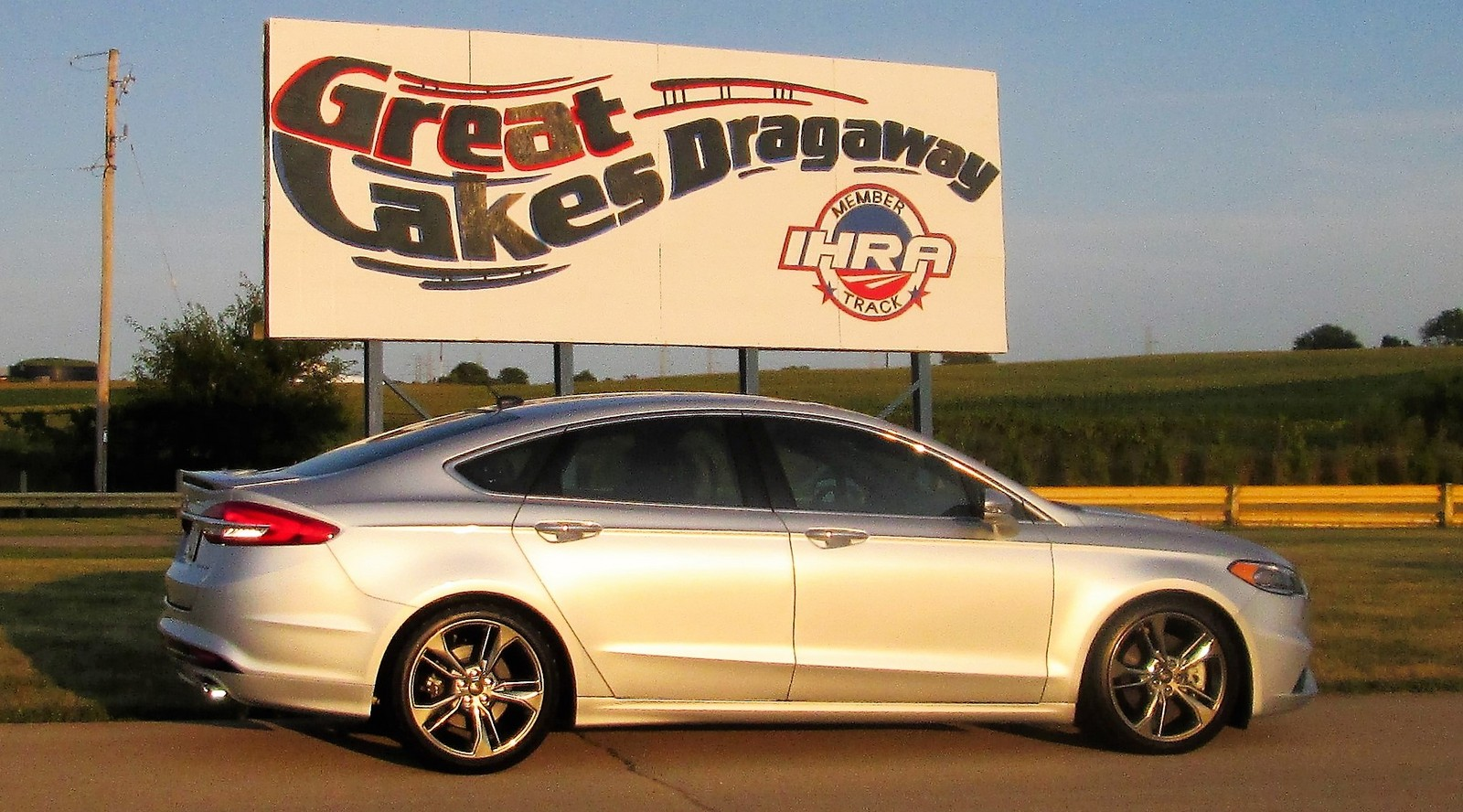 Ingot Silver 2017 Ford Fusion Sport