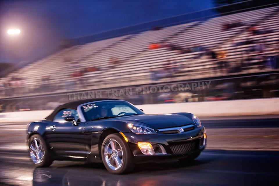 Black 2008 Saturn Sky Redline