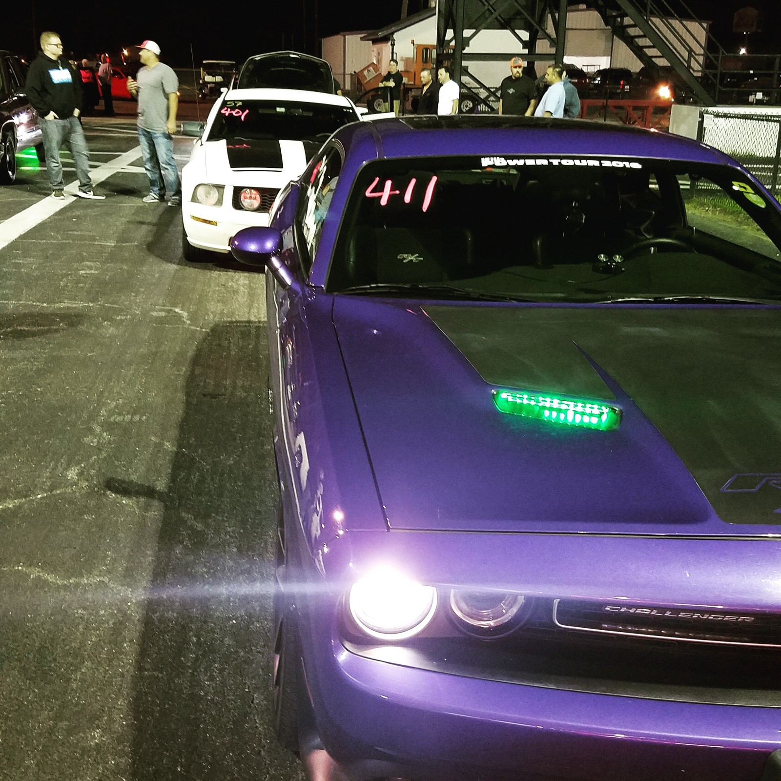 Plum Crazy 2016 Dodge Challenger Scat Pack
