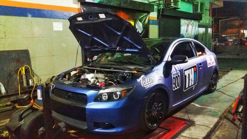 2008 Blue Chamaleon Scion tC  picture, mods, upgrades