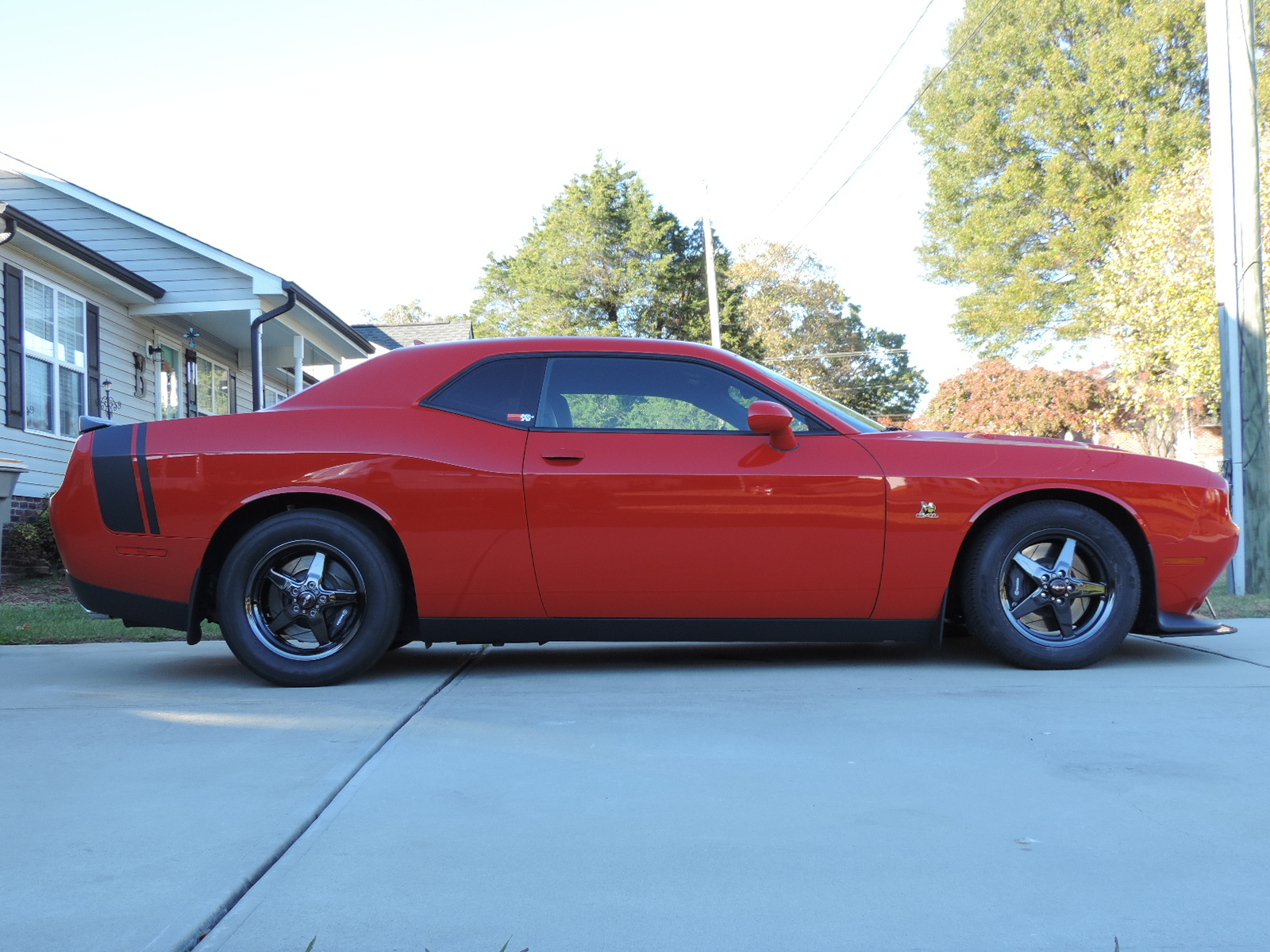 2015 TorRed Dodge Challenger R/T Scat Pack picture, mods, upgrades