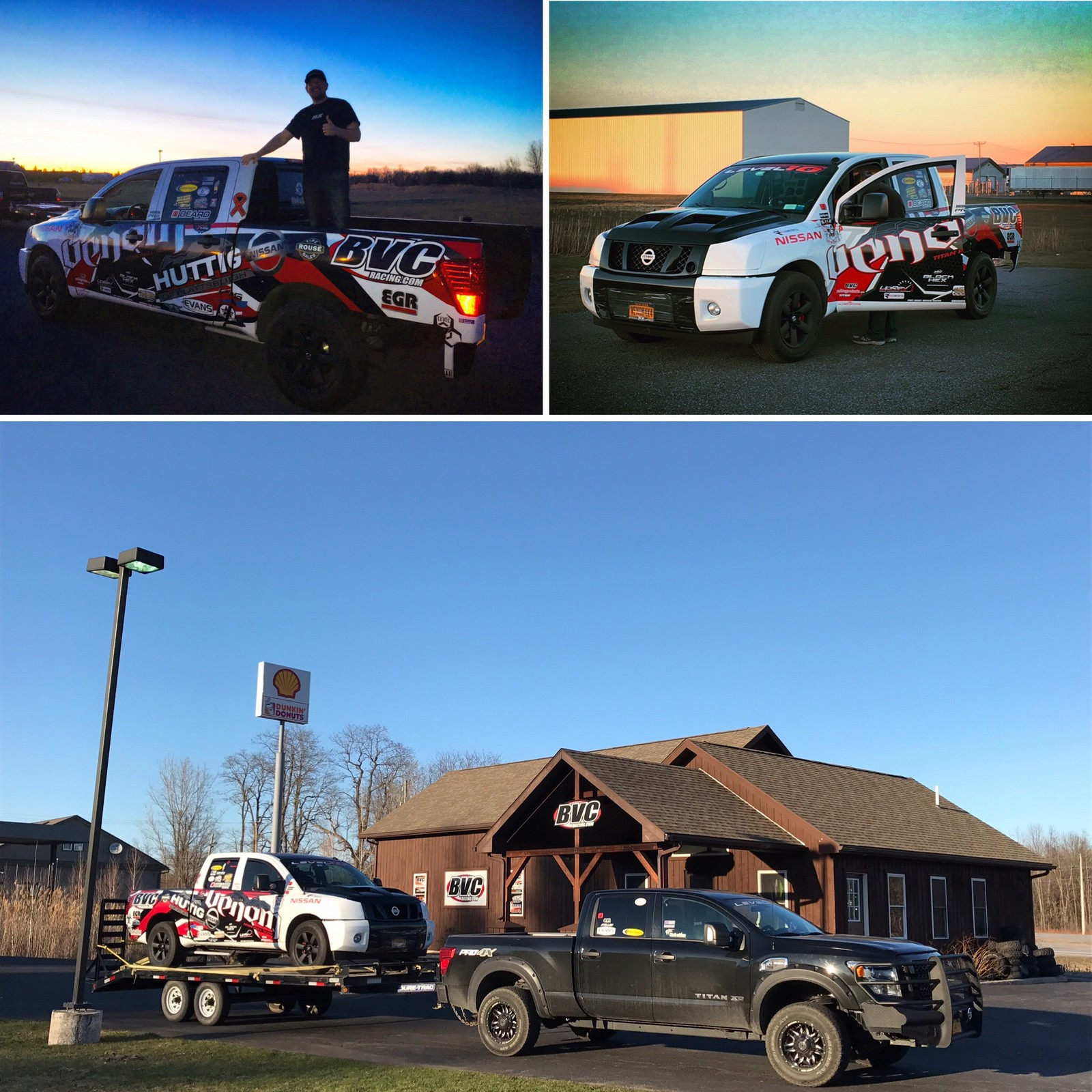 Custom wrap by BVC Racing 2010 Nissan Titan Pro4X 4X4